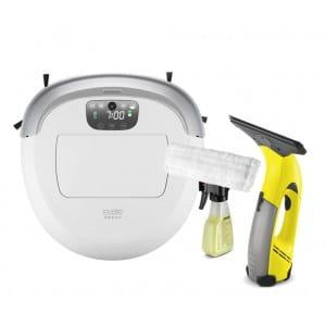 Робот-пылесос iCLEBO Omega White + Стеклоочиститель WV 50 Plus в подарок!