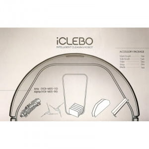 Набор аксессуаров для iCLEBO Arte