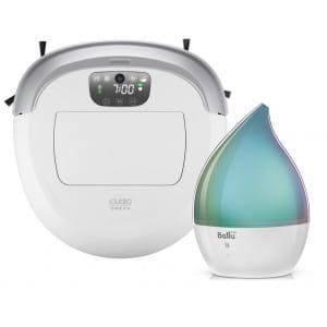 Робот-пылесос iCLEBO Omega White + Увлажнитель ультразвуковой Ballu UHB-190 в подарок!