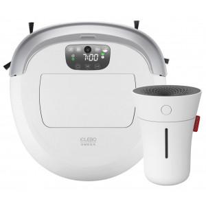 Робот-пылесос iCLEBO Omega White + Ультразвуковой увлажнитель Boneco U50 в подарок!