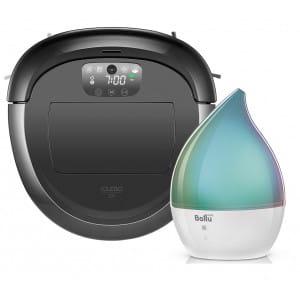 Робот-пылесос iClebo O5 WiFi + Увлажнитель ультразвуковой Ballu UHB-190 в подарок!