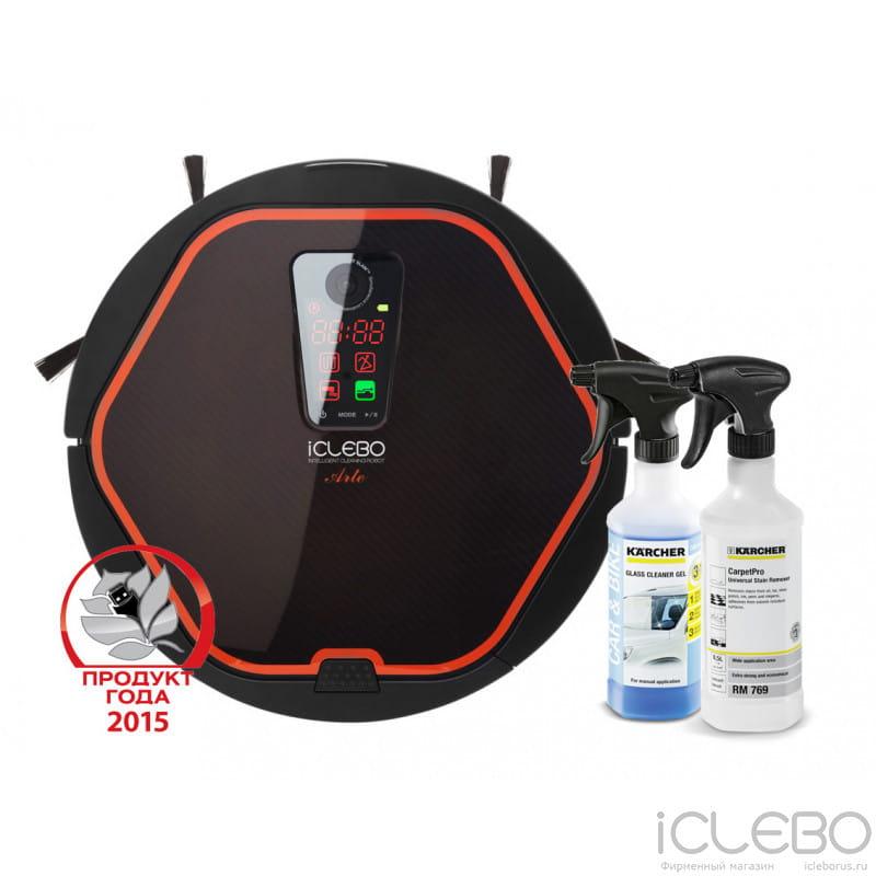 iClebo Arte Carbon, RM 724G, CARPETPRO RM 769 YCR-M05-10, 6.295-762, 6.295-490 в фирменном магазине iClebo