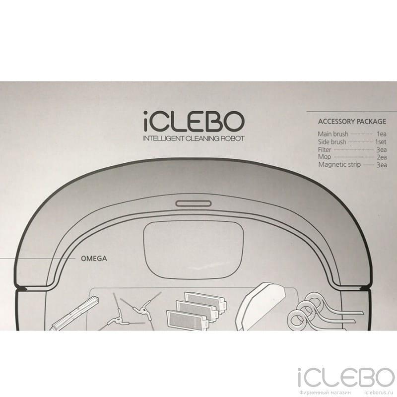 для iCLEBO Omega YCR-M00-12 в фирменном магазине iClebo