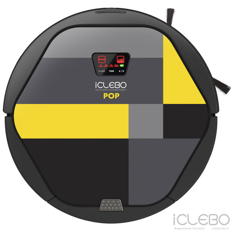 iClebo Pop Lemon YCR-M05-P2 в фирменном магазине iClebo