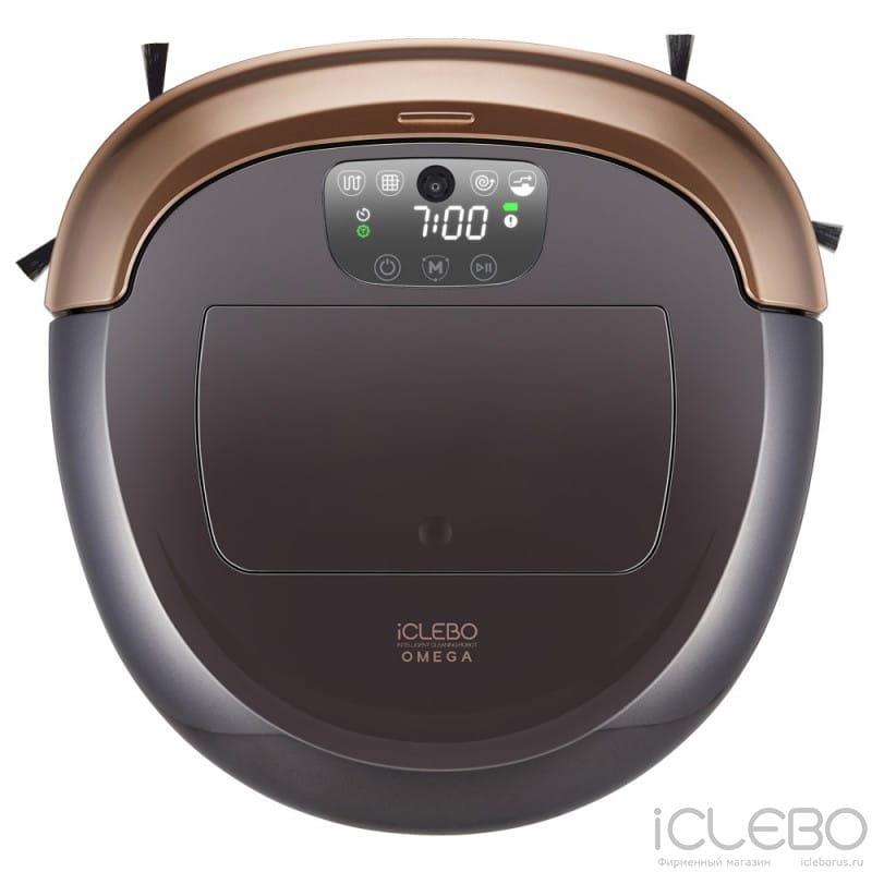 Робот-пылесос iCLEBO Omega Gold + Ультразвуковой увлажнитель Boneco U50 в подарок!